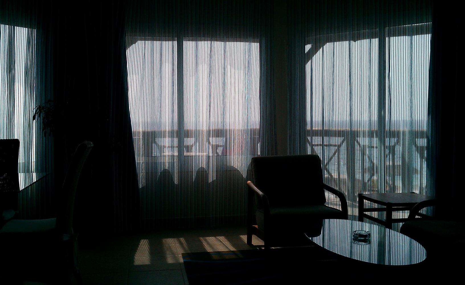 Hotel Life - From my window - The ocean, Dibba Al-Fujaira, UAEh