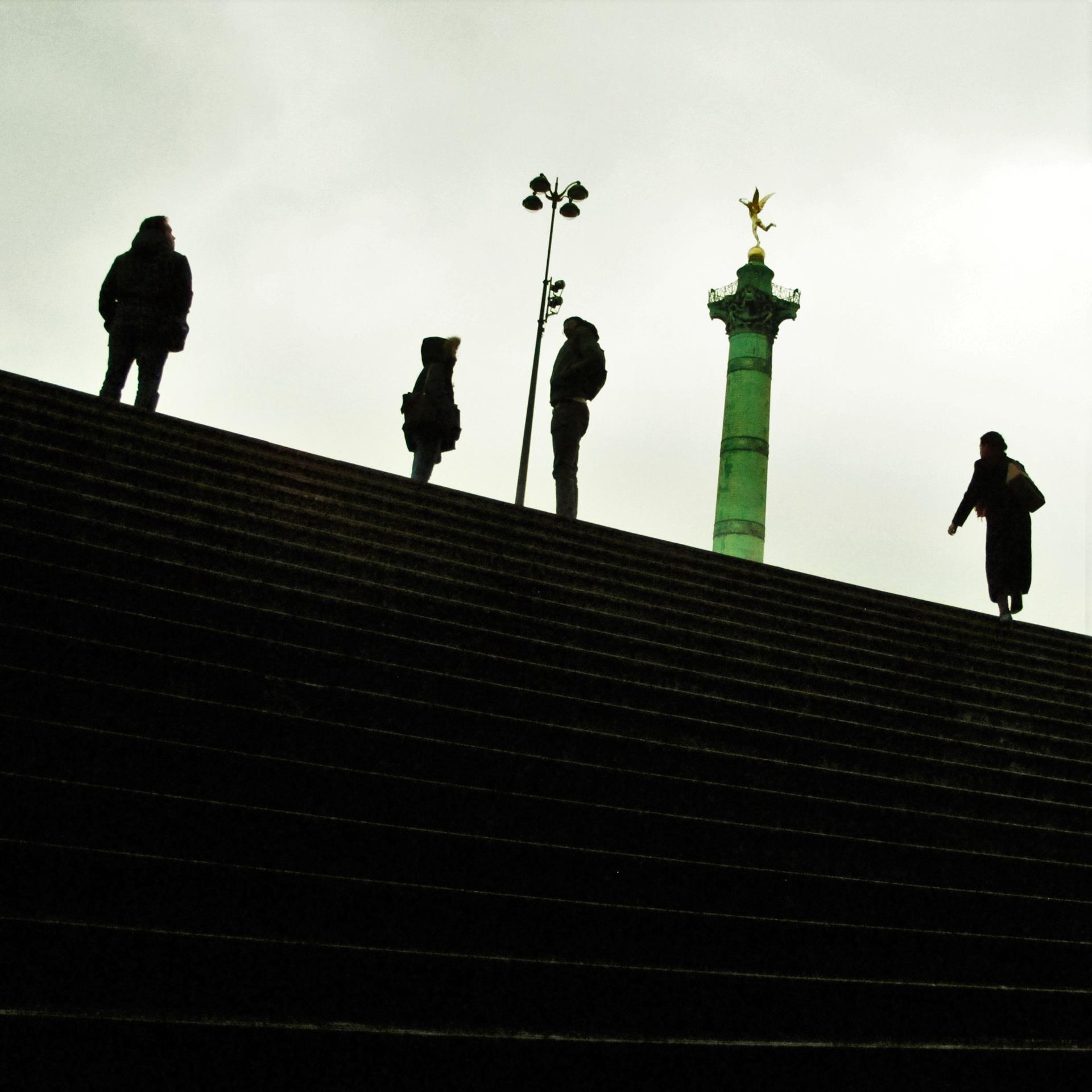 Silhouettes de Bastille