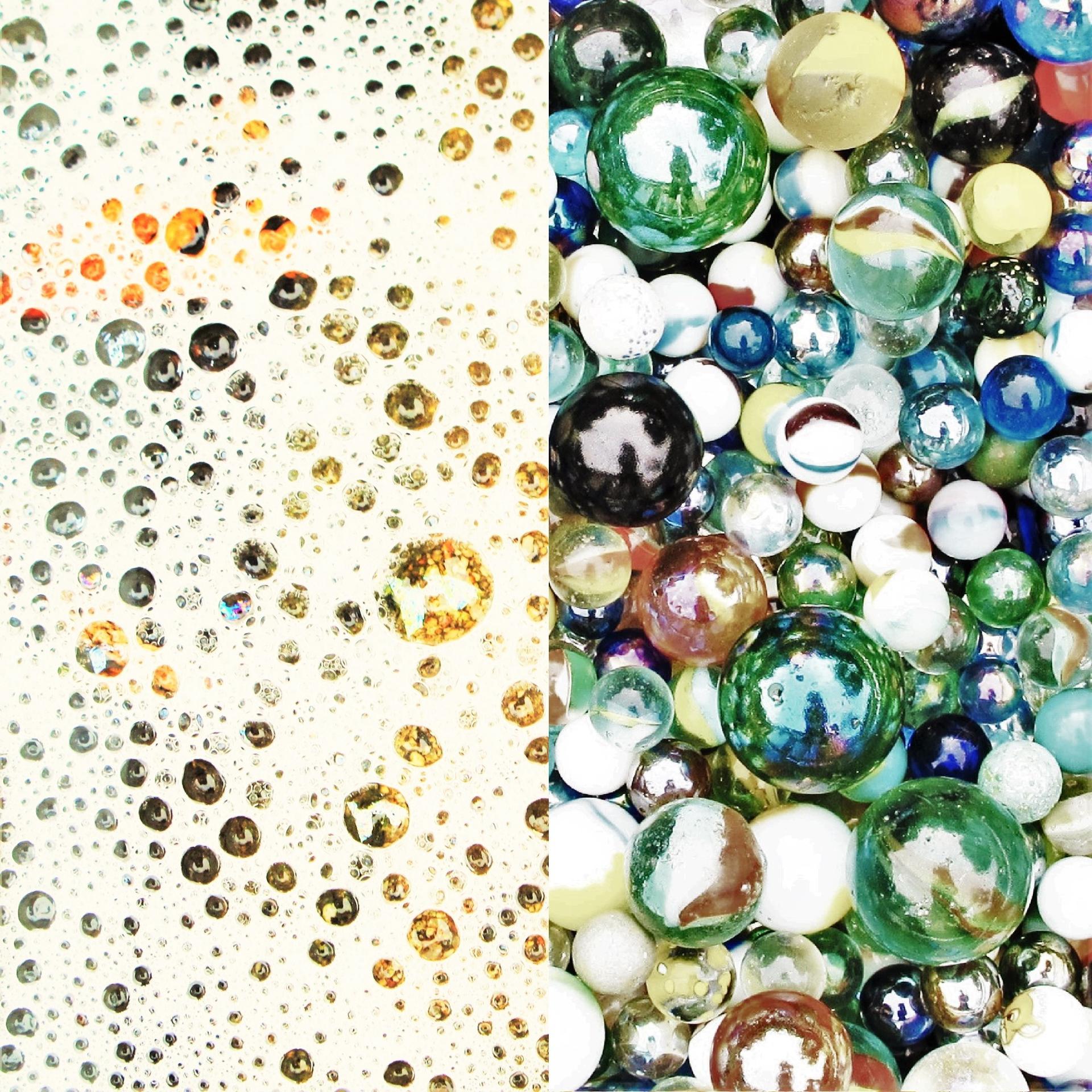 Des billes et des bulles