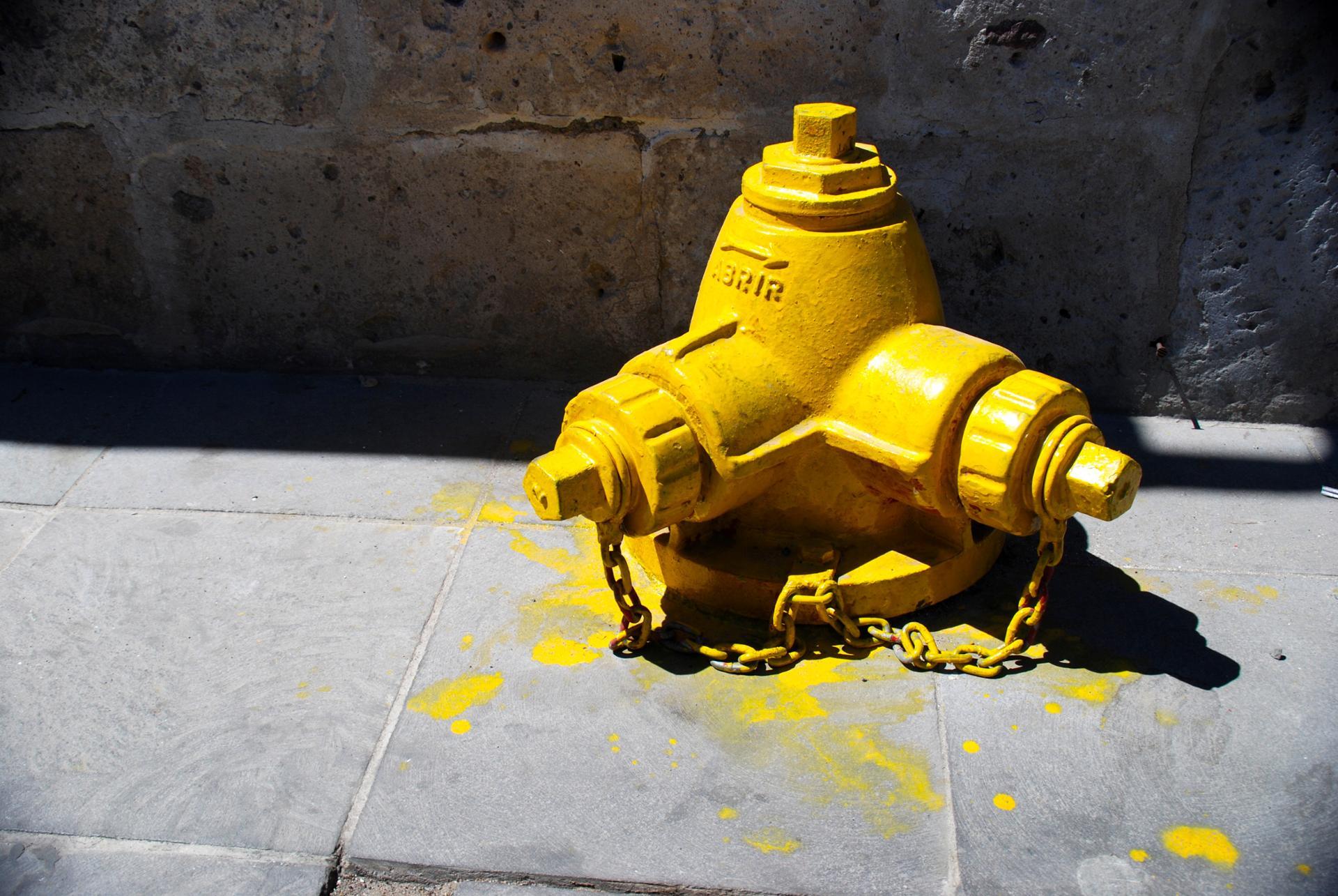 Yellow corner