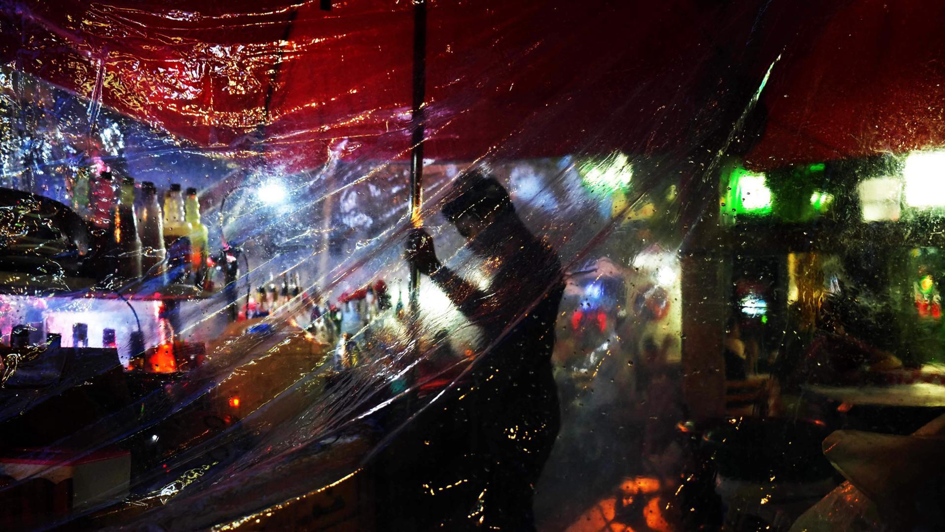 One rainy night in Bangkok