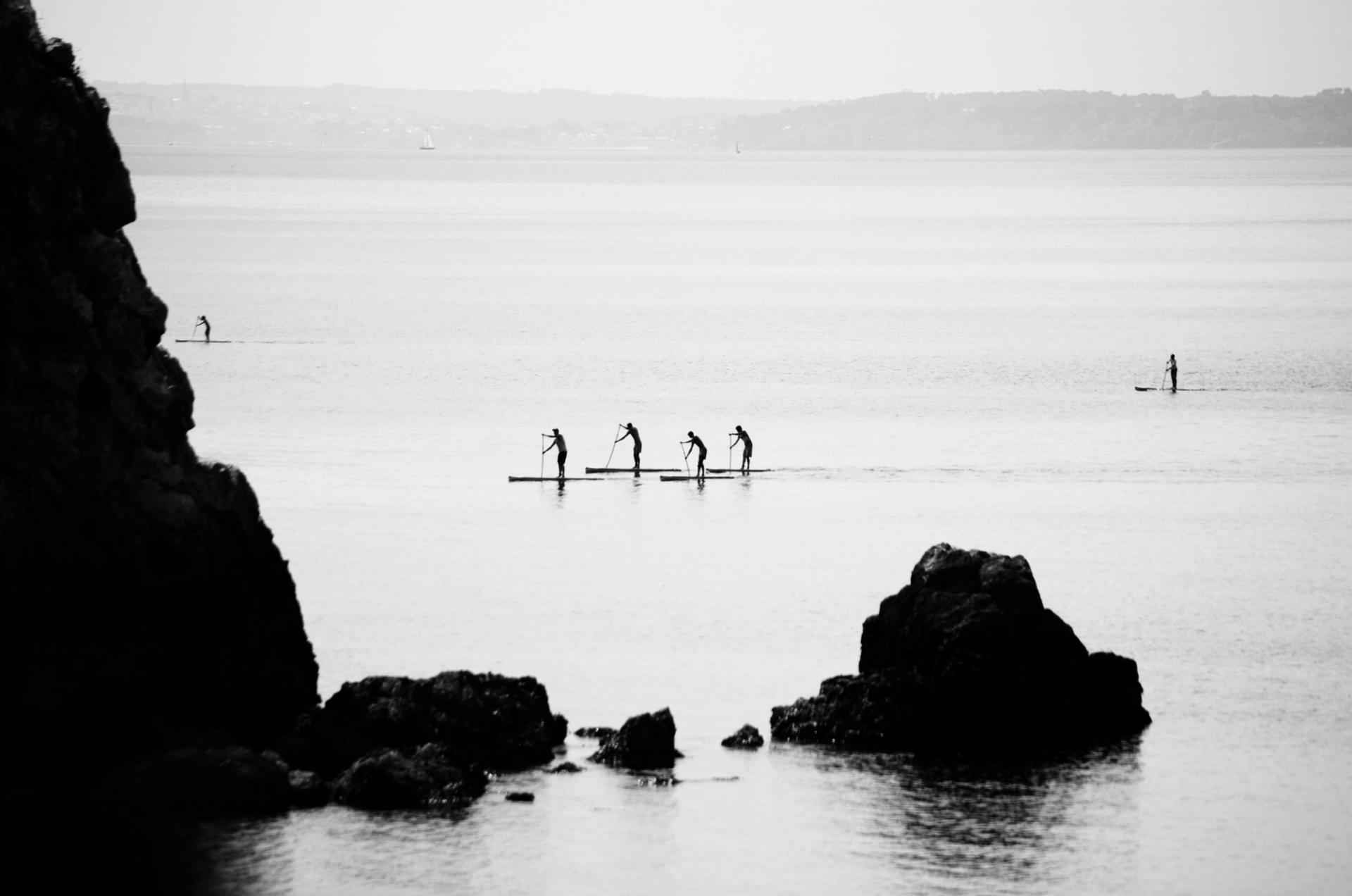 Les petits rameurs de la Presqu'île