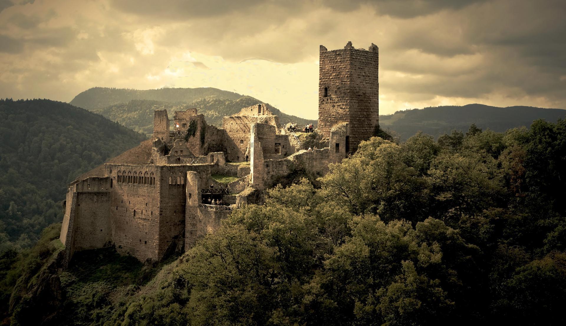 Chateau de Ribeauvillé.68