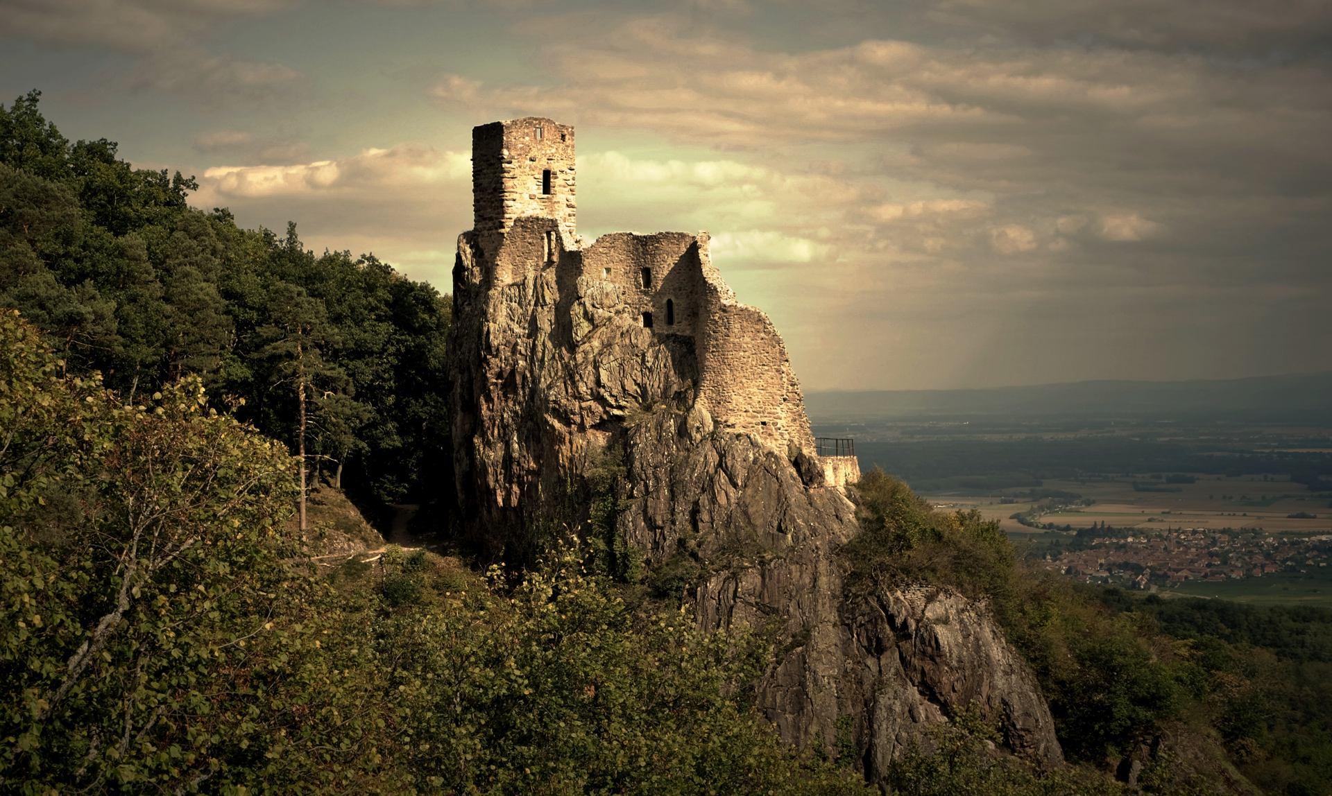 Le girsberg (Ribeauvillé )