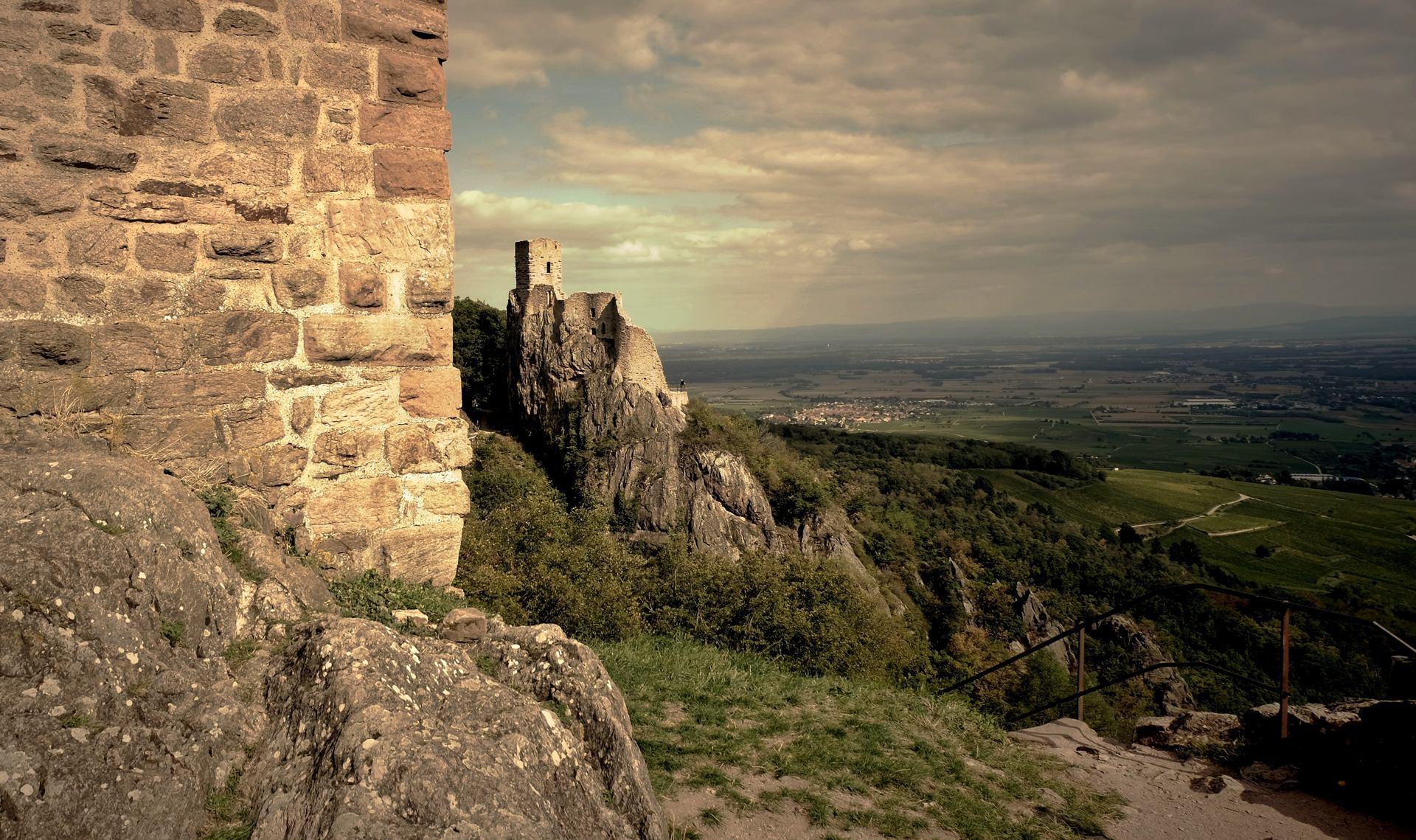 Les châteaux  (Ribeauvillé)