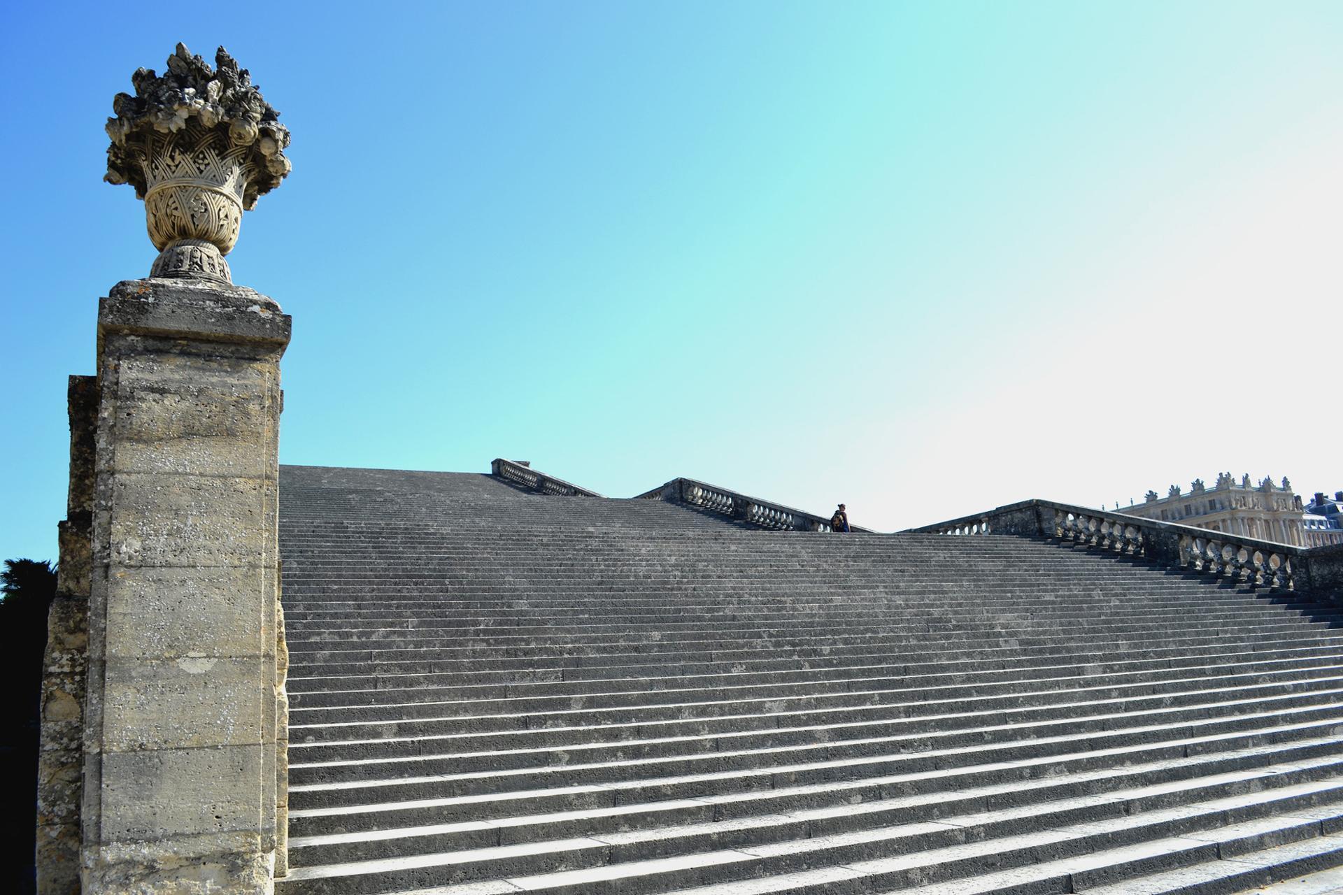 Versailles escaliers