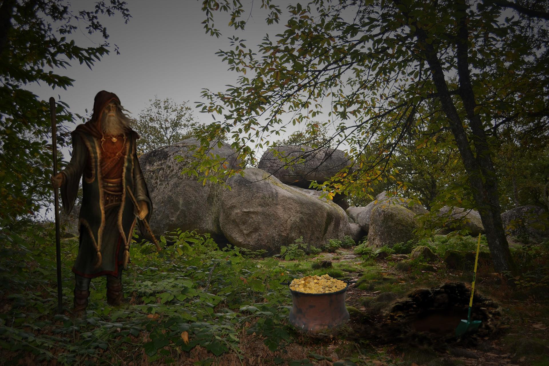 Druide cherche porteurs