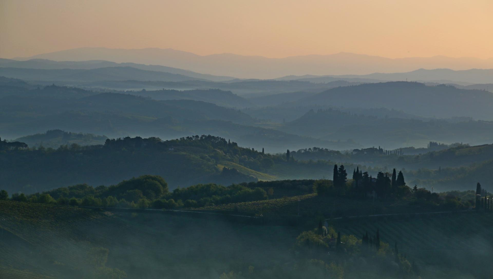 Toscane au petit matin.JPG