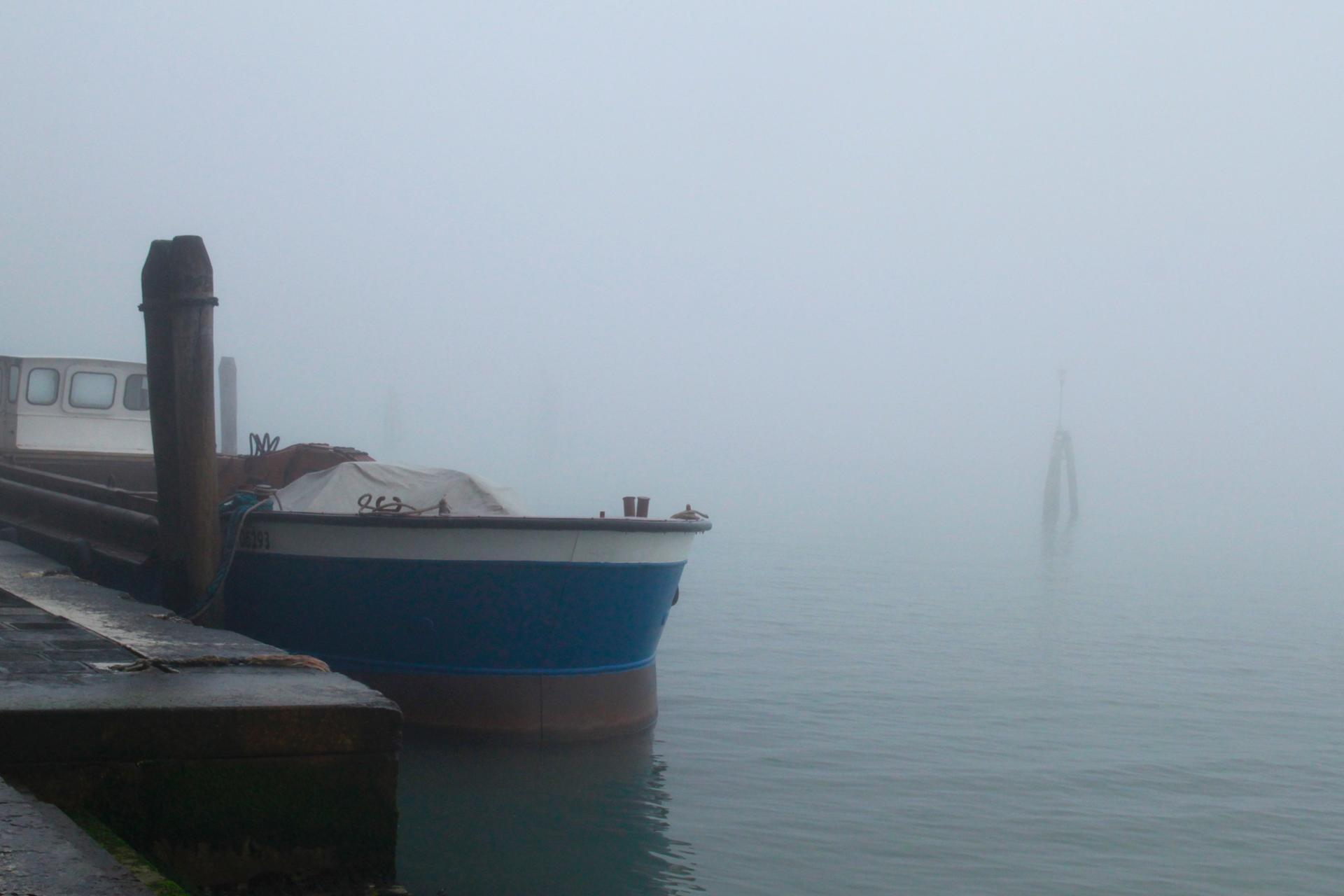 Un bateau à Venise