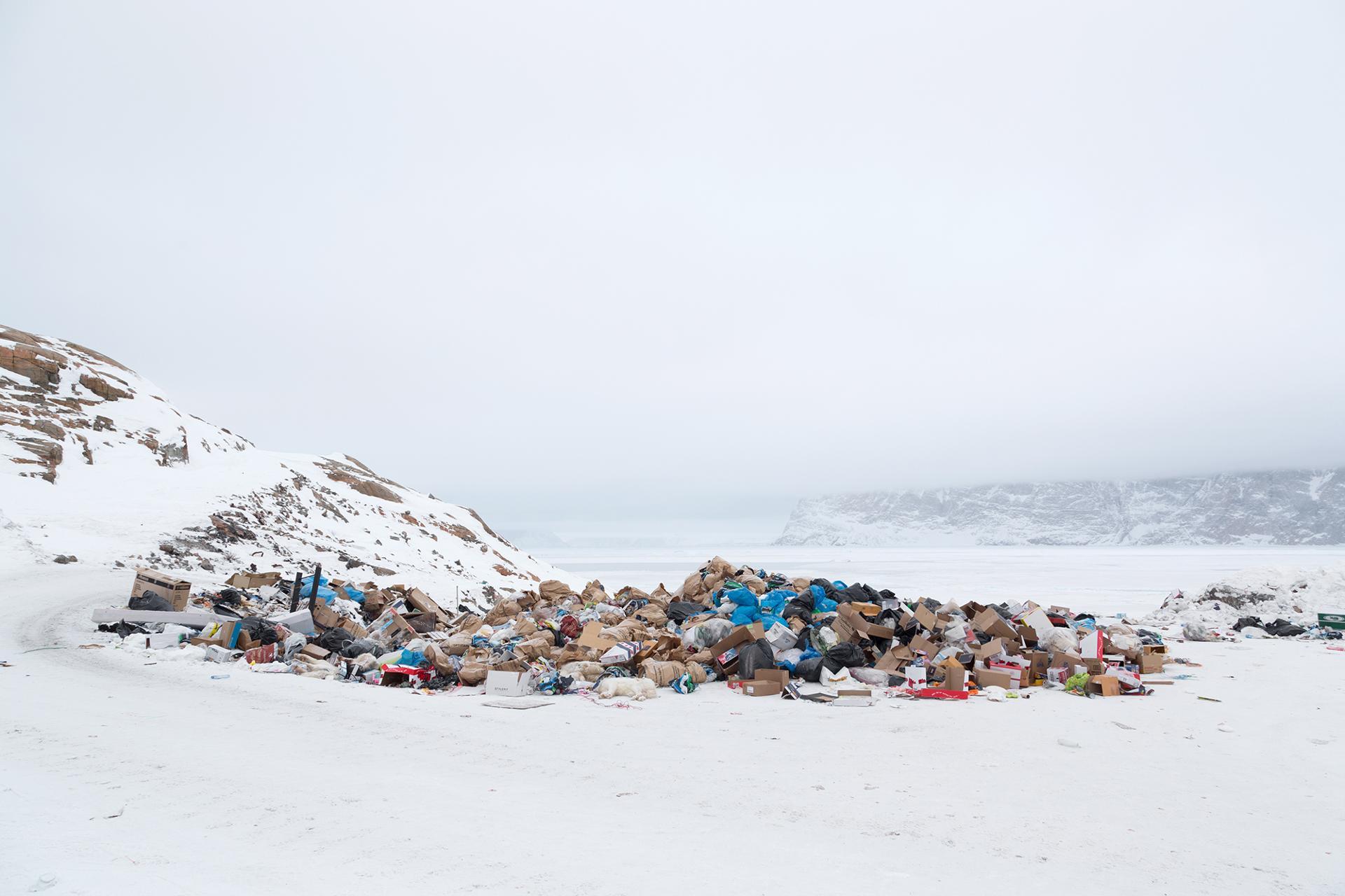 Déchetterie Uummannaq Groenland