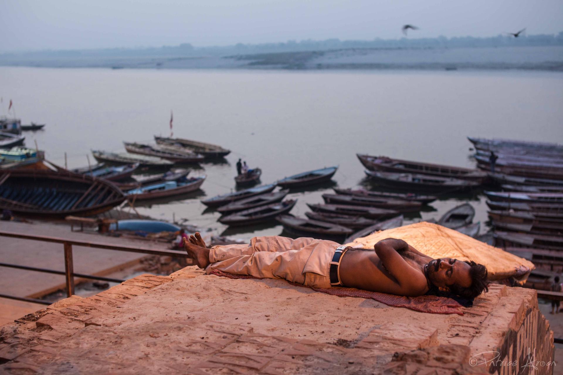 Varanasi (Bénarès), Inde  2013