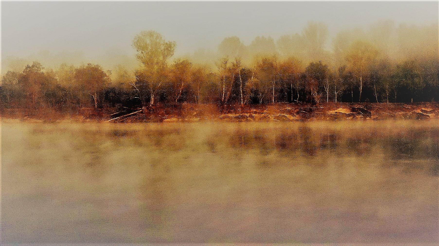 Brume sur la Loire