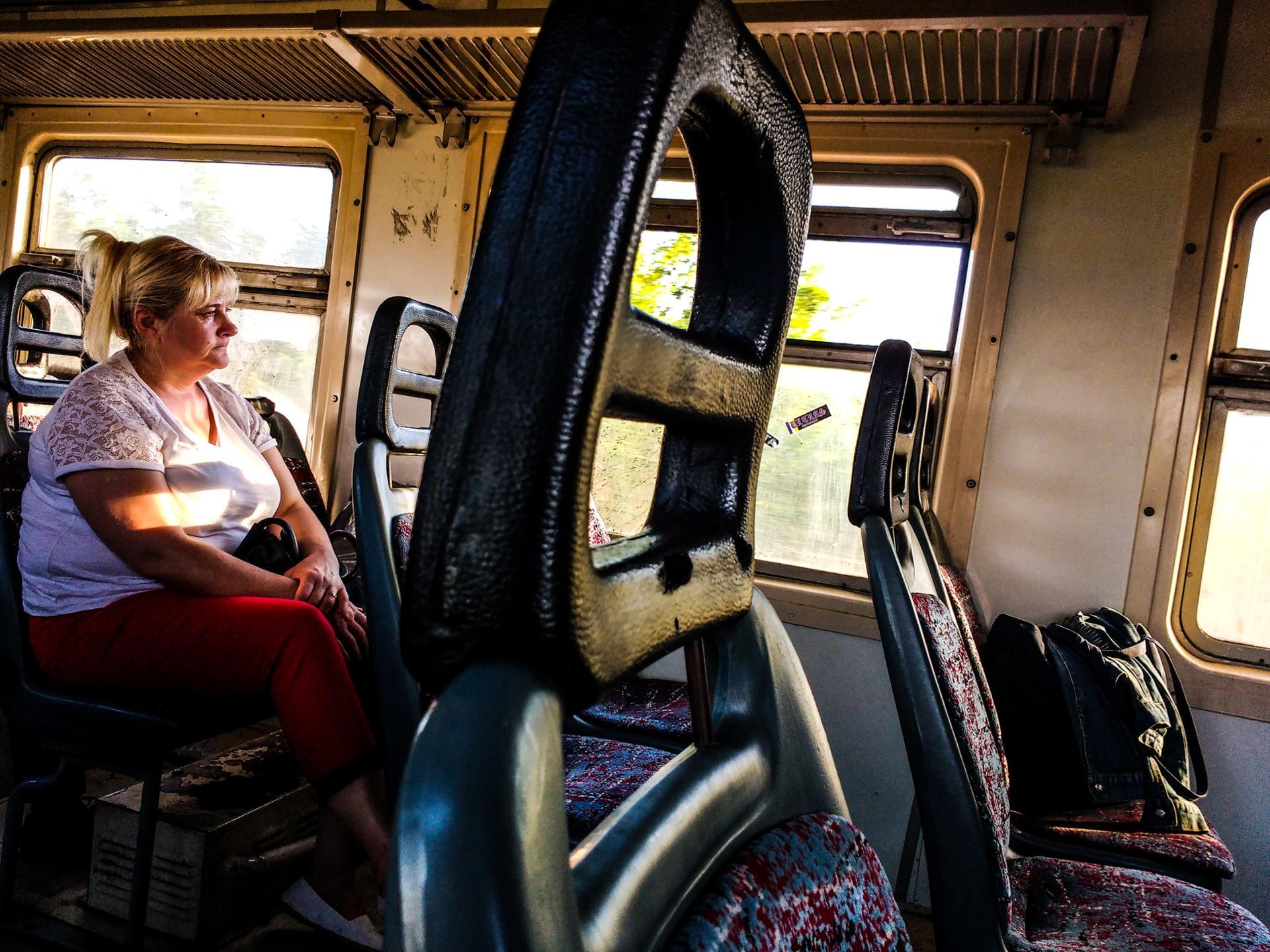 U vozu
