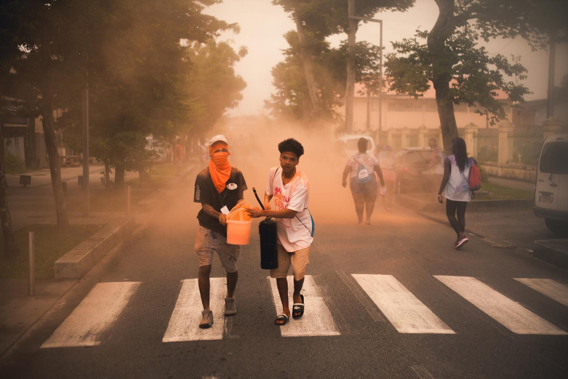 Orange riots