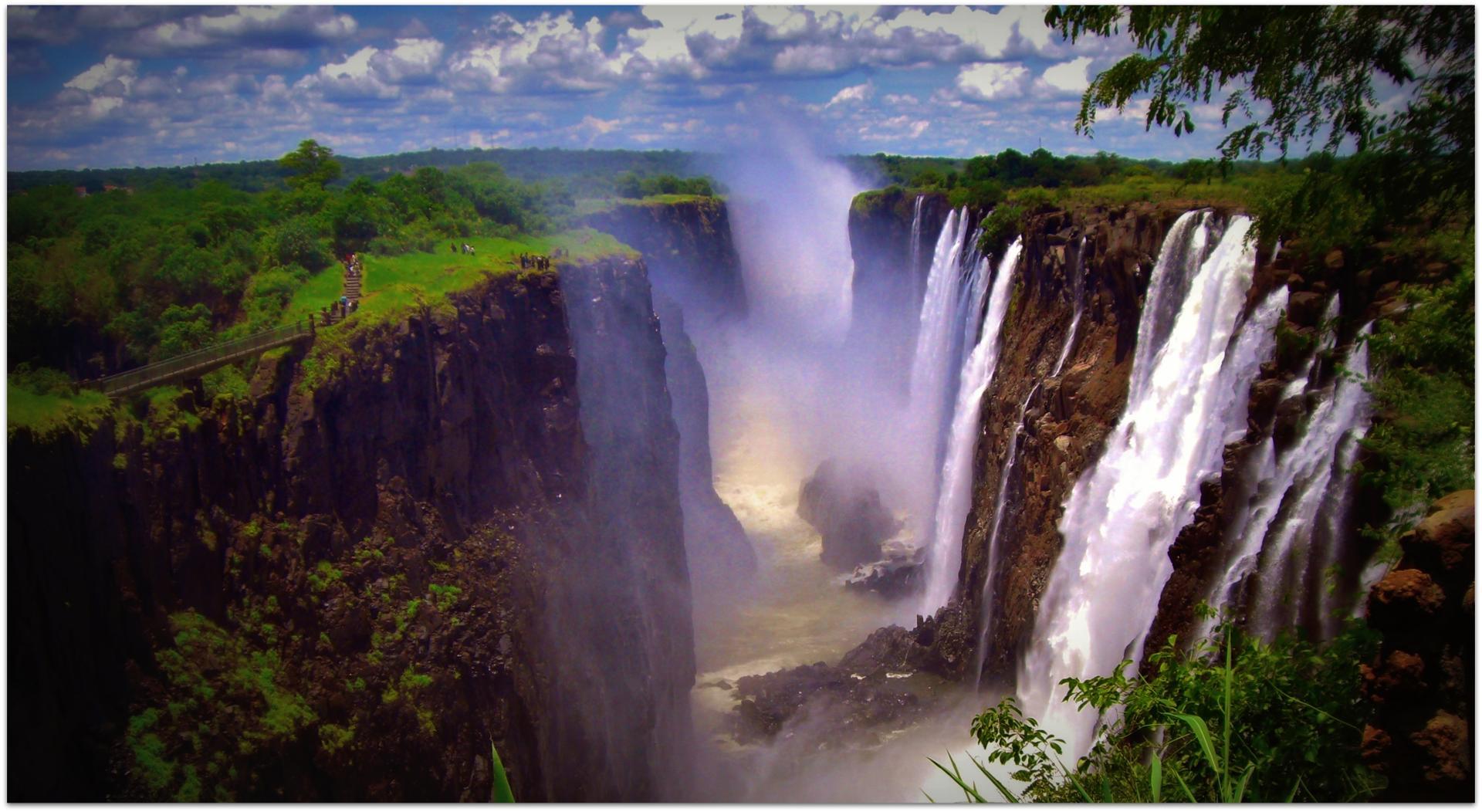 Victoria Falls, Zambie.