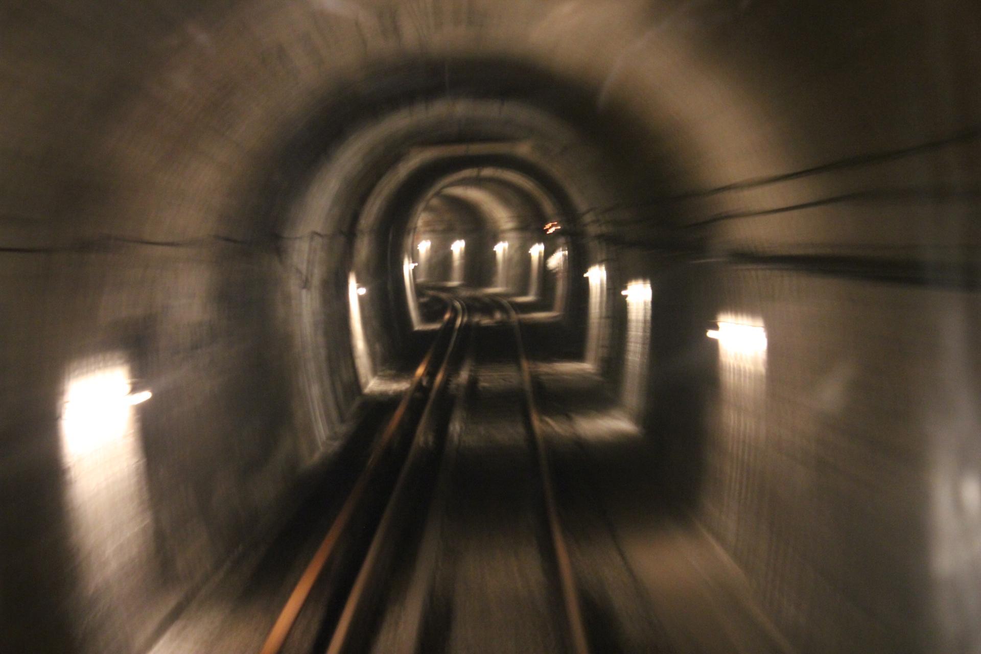 Dans les souterrains
