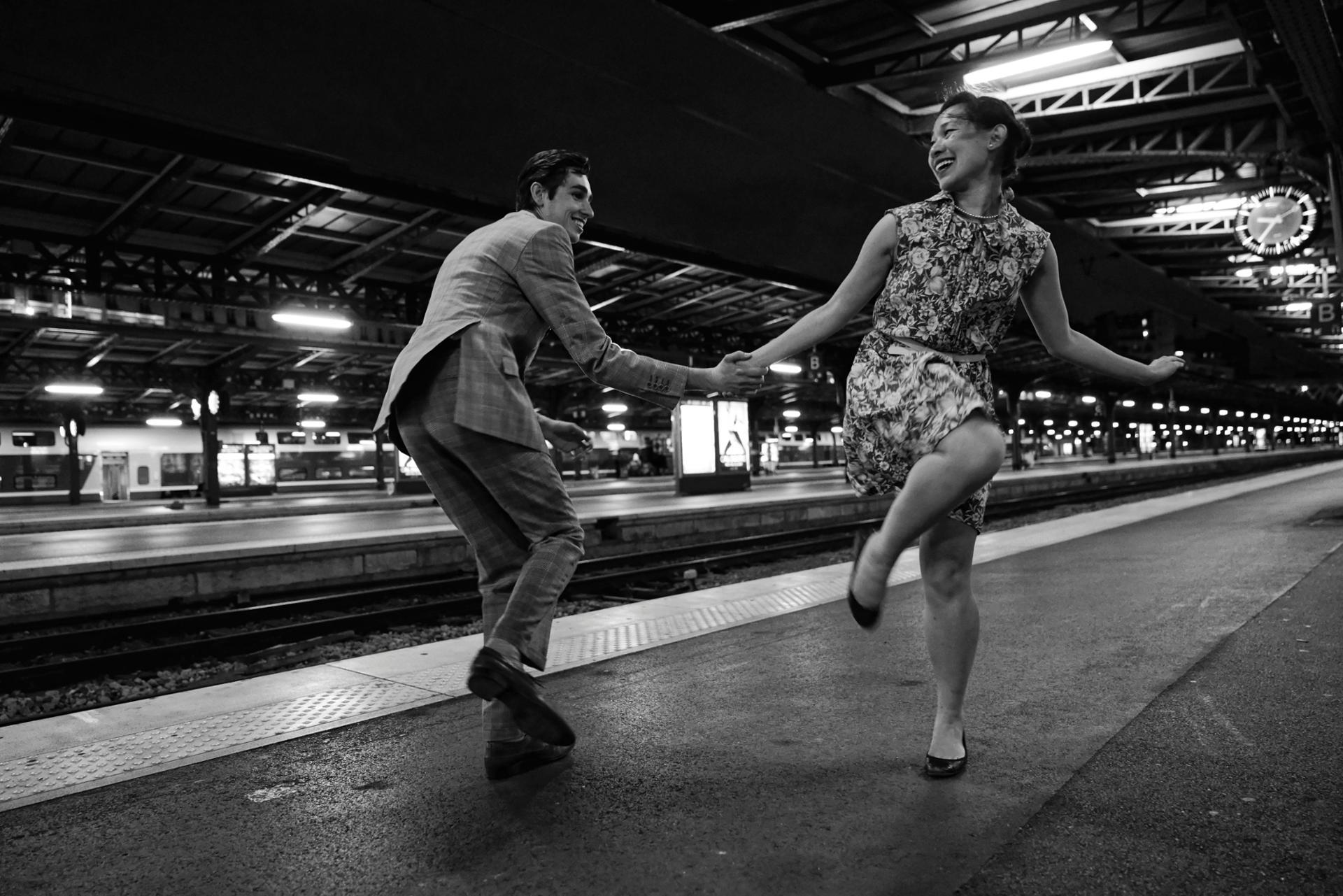 Petit Swing entre amoureux | Paris Gare de l'Est | 30 août 2017