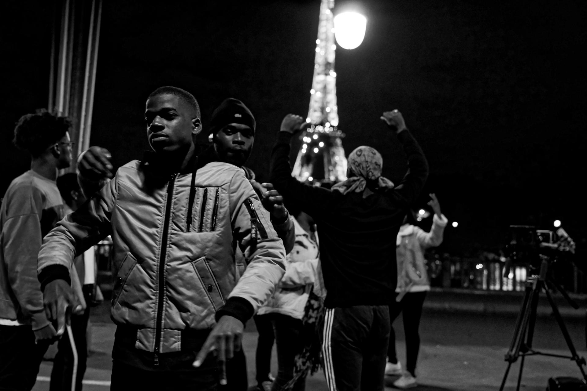 Paris Octobre 2017, chanteurs RAP & Gospel LES JUMEAUX de LETERNEL