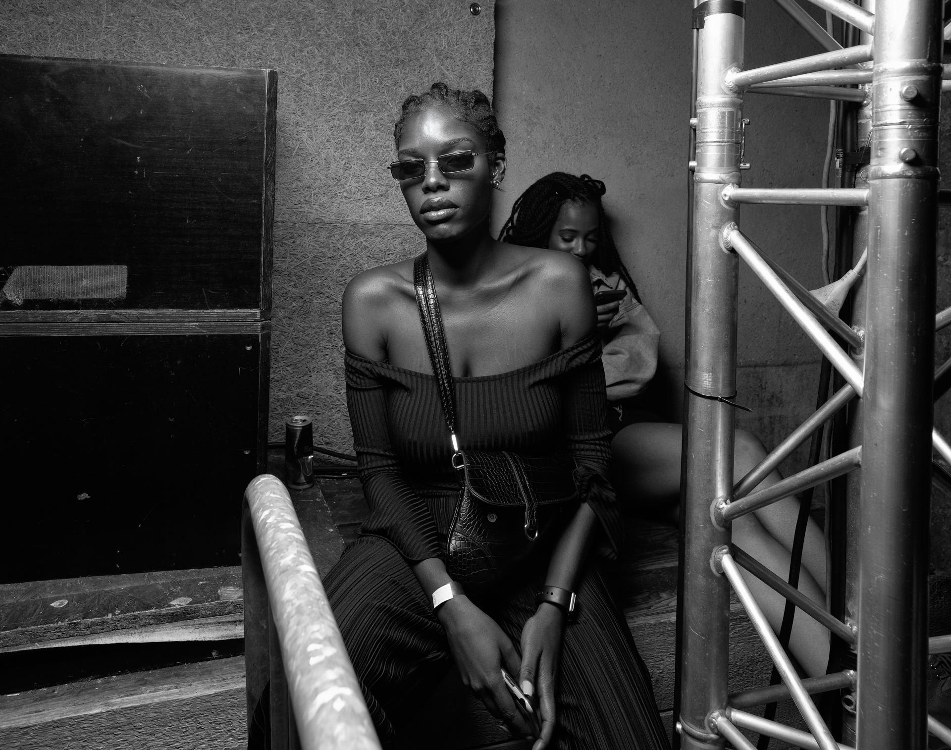 backstage face, Paris 2019 - Wanderlust