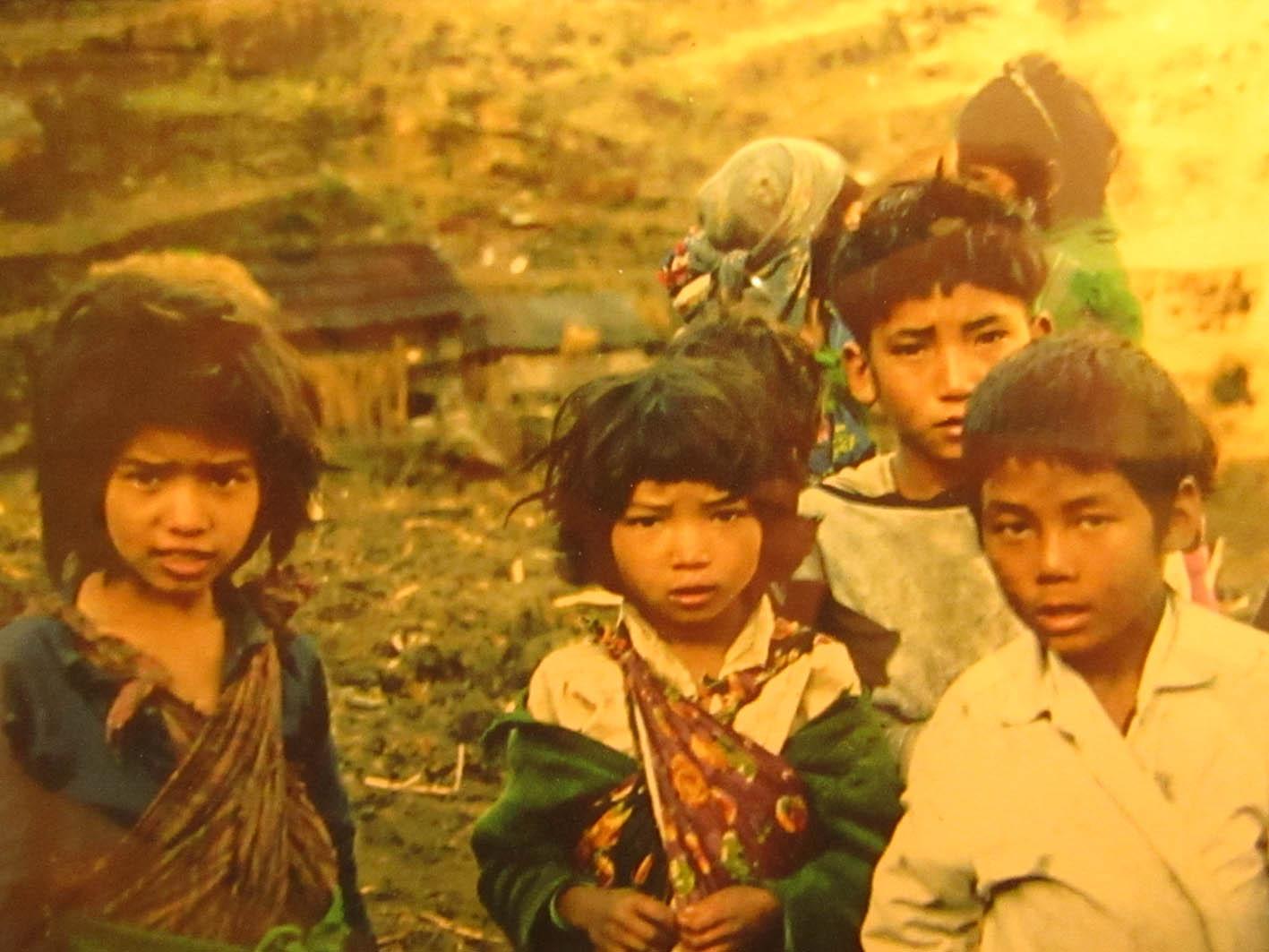 Le peuple Népalais-Merveilleux groupe