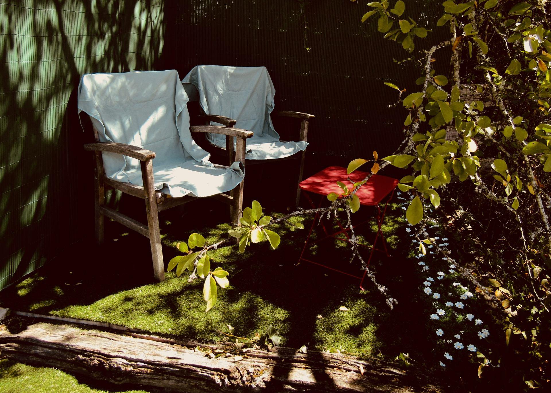 Le jardin des secrets.