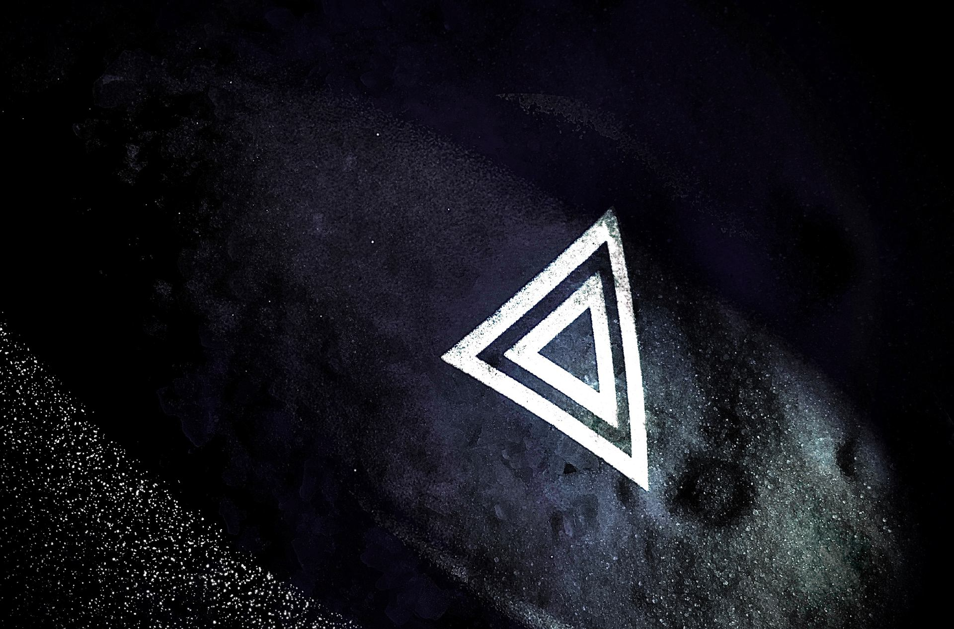 La constellation du triangle.
