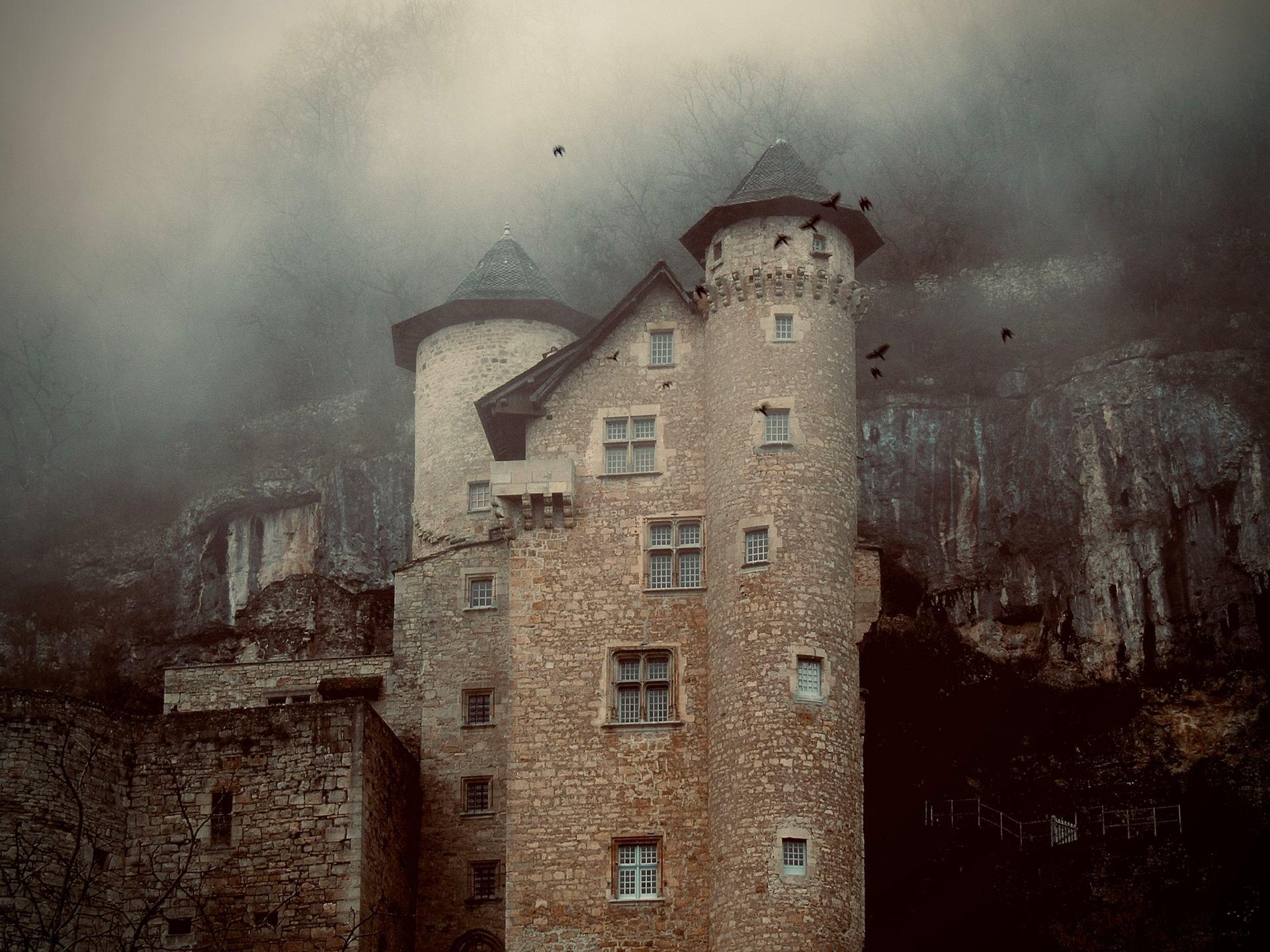 Chateau et corbeaux 2