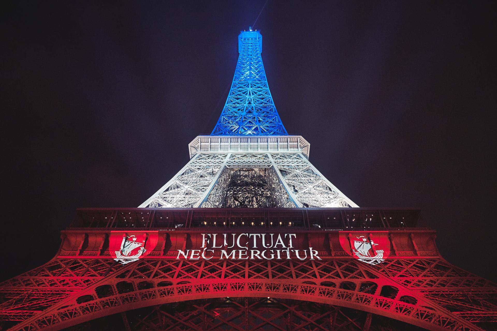 Impressionante Tour Eiffel