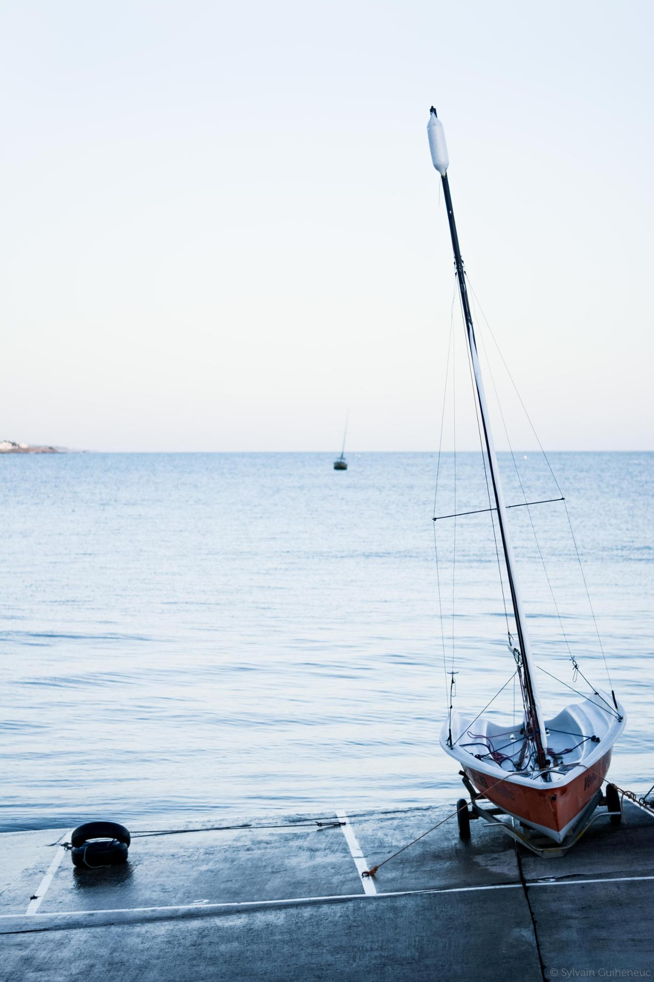 Soirée sur le port