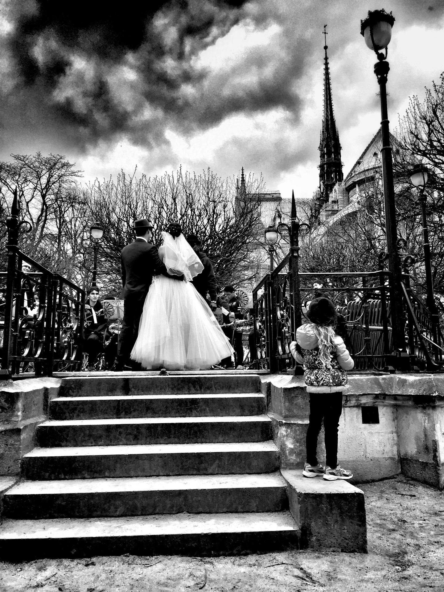 Mariage à Notre Dame