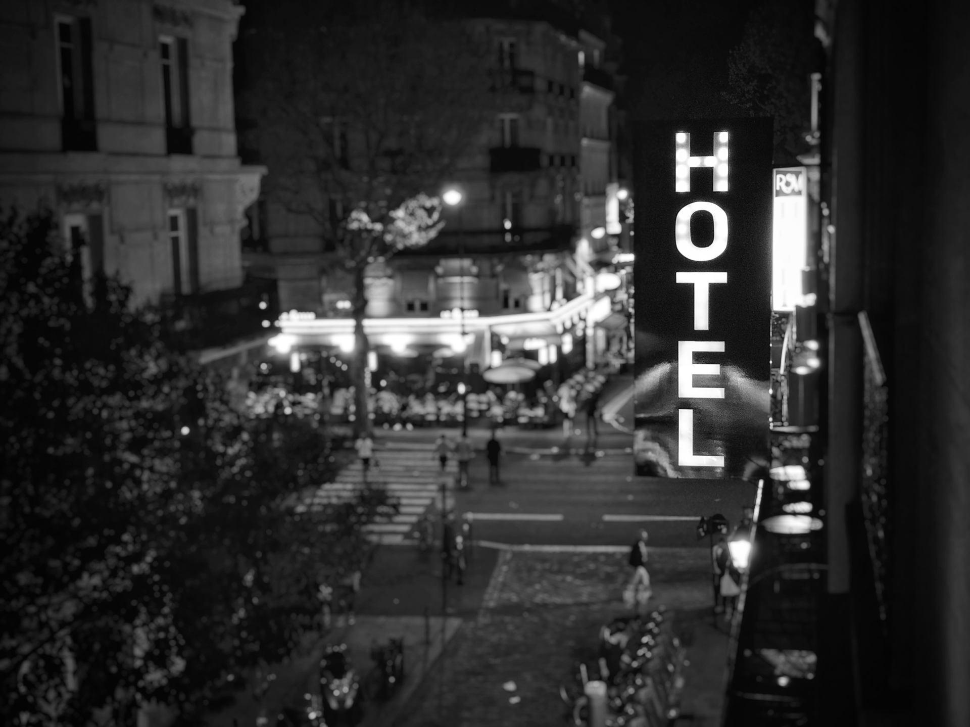 Le début de la nuit à Paris