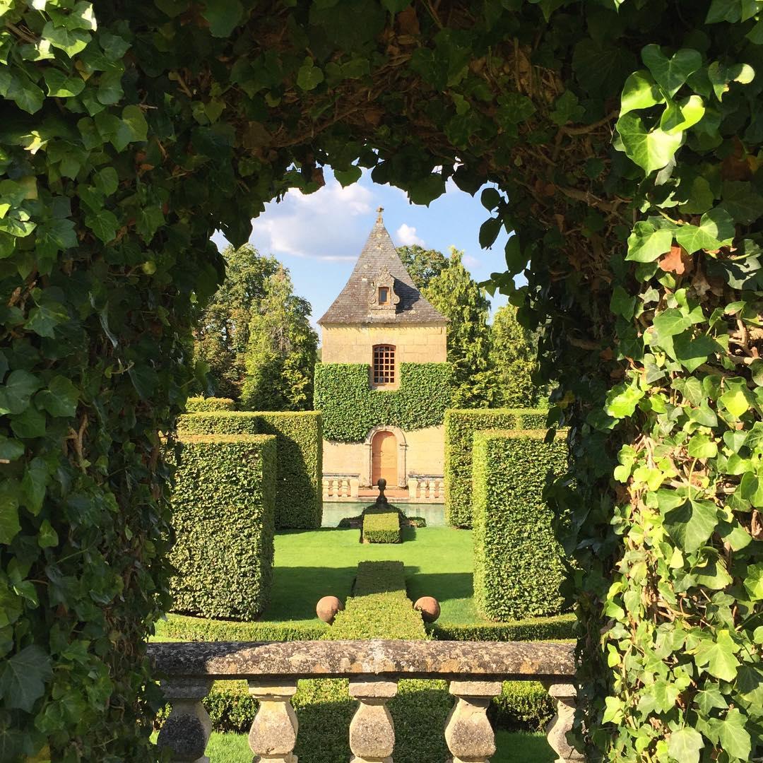 Vue indiscète sur un Jardin