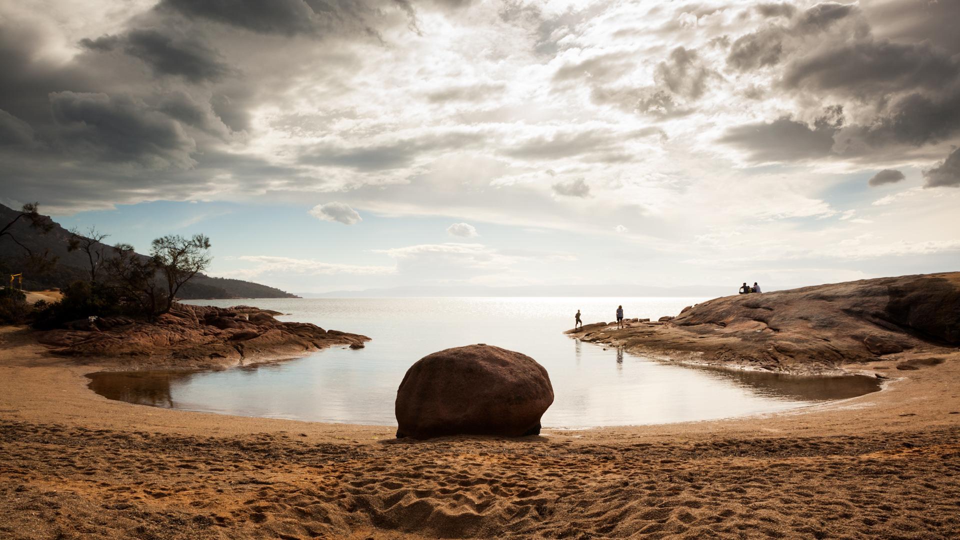 Honeymoon bay, Tasmanie