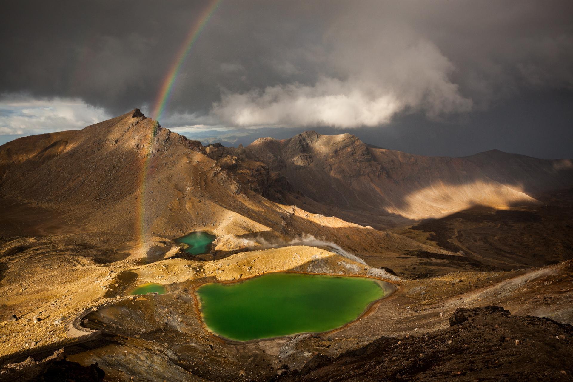 Emerald lakes, Nouvelle-Zélande