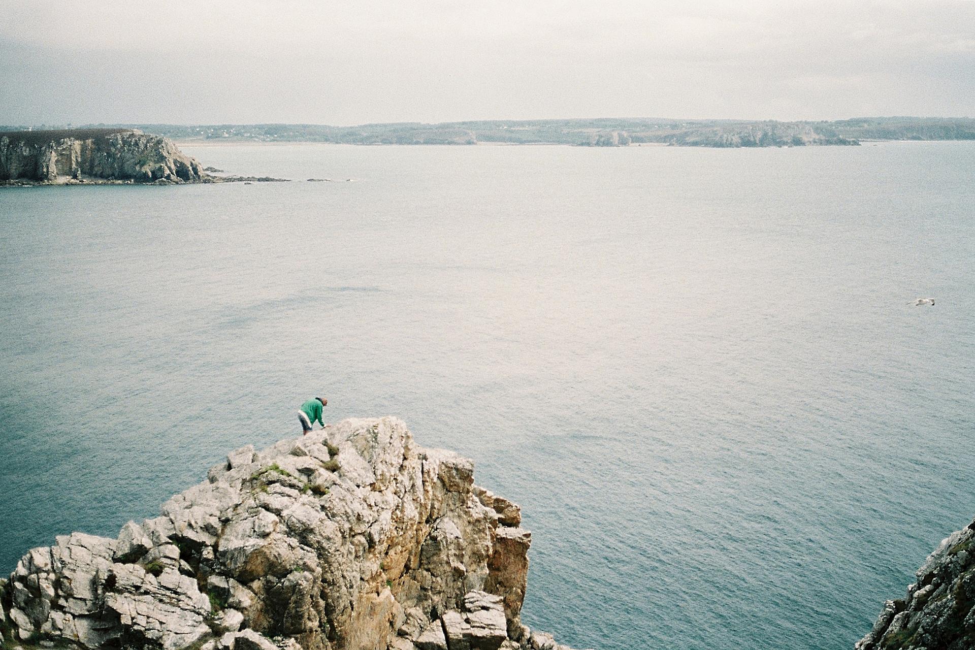 Thibault, Finistère, 2014. (Photographie argentique)