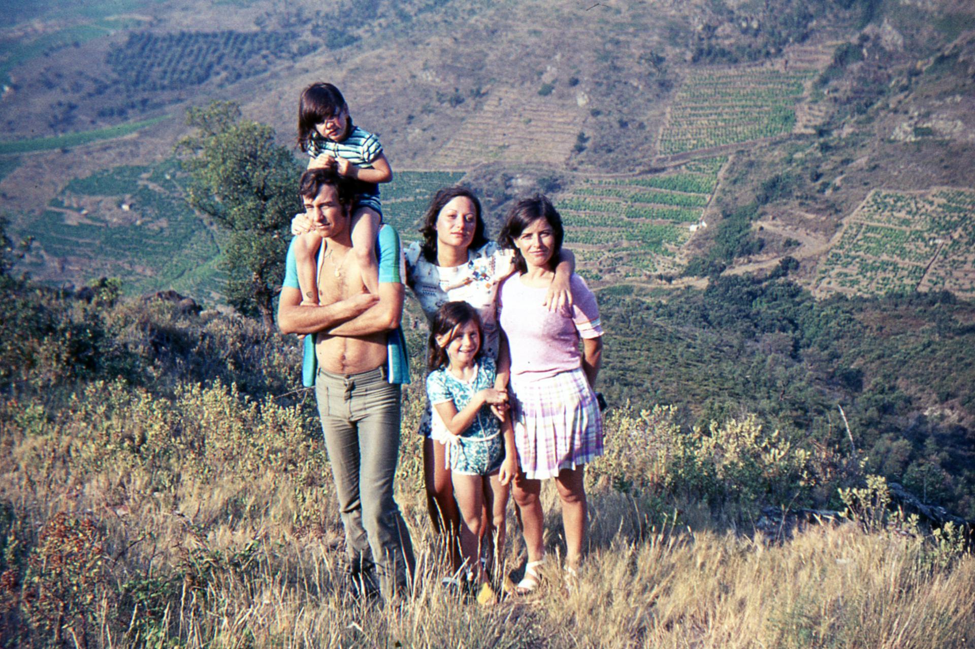 Mes tantes et mes cousines, années 1970