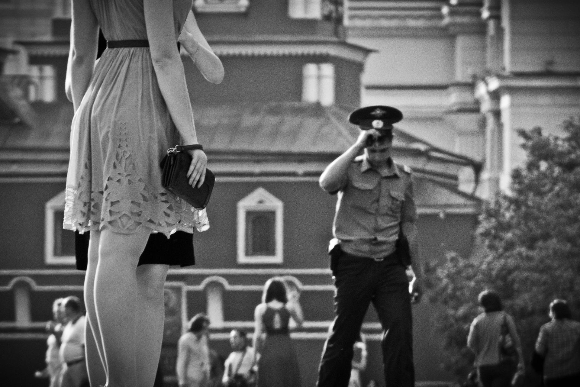 Moscou, la Place Rouge
