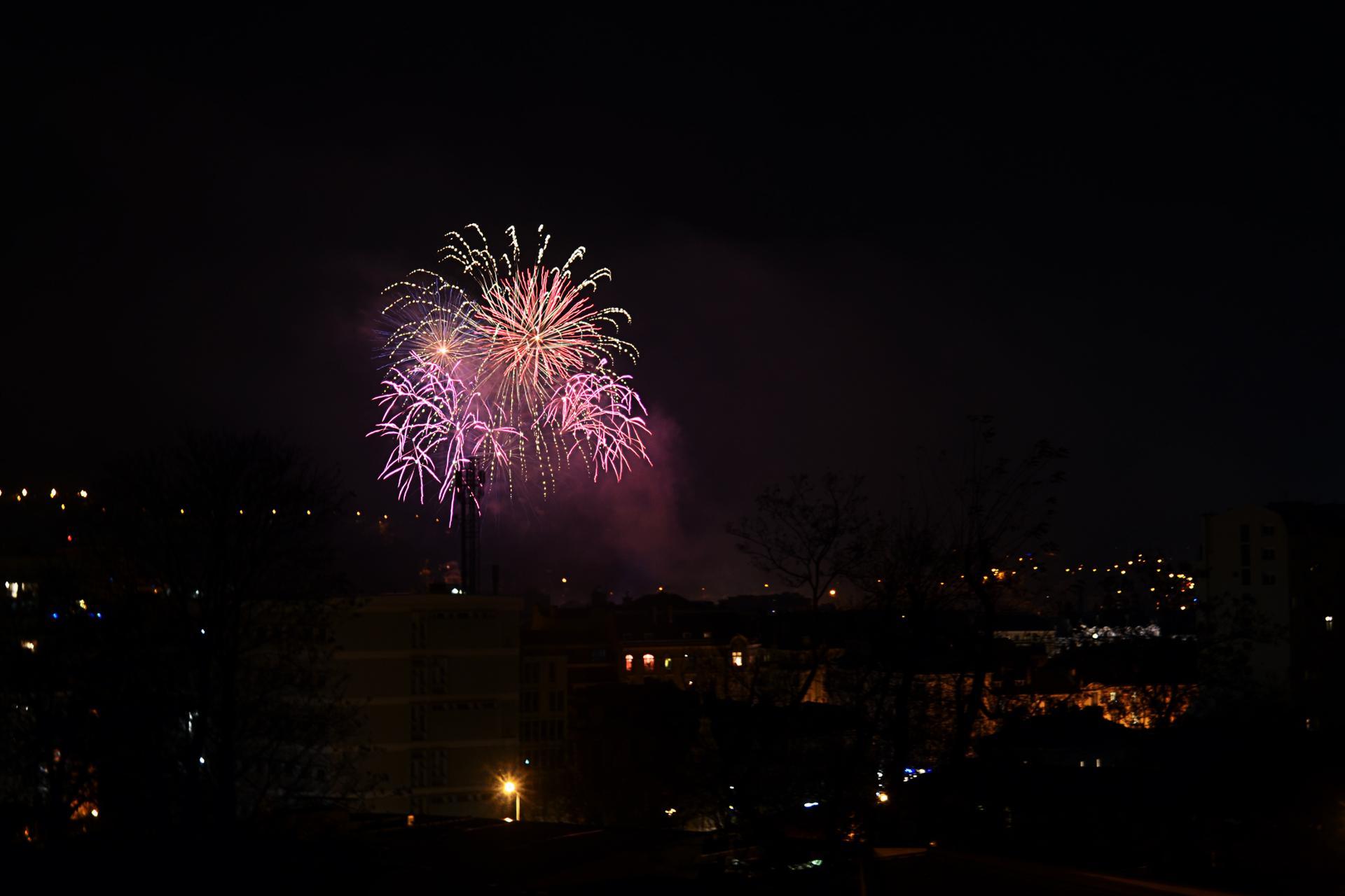 Explosion sur la ville