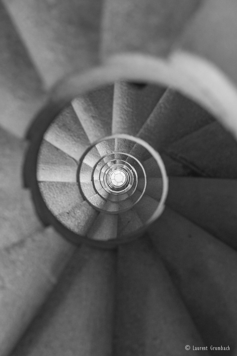 Escalier Sagrada Familia
