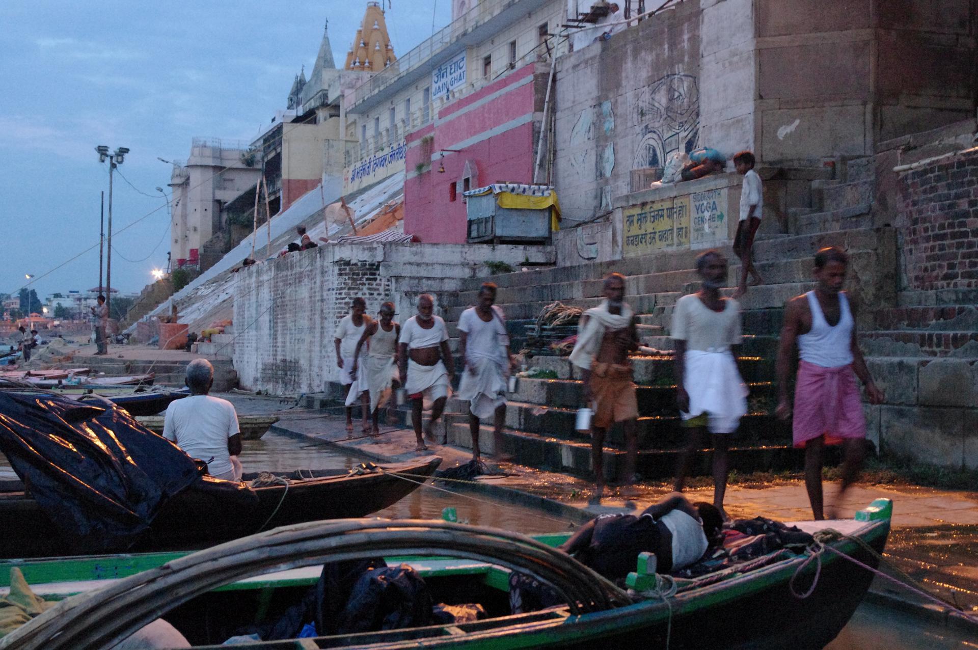 Au bord du Gange