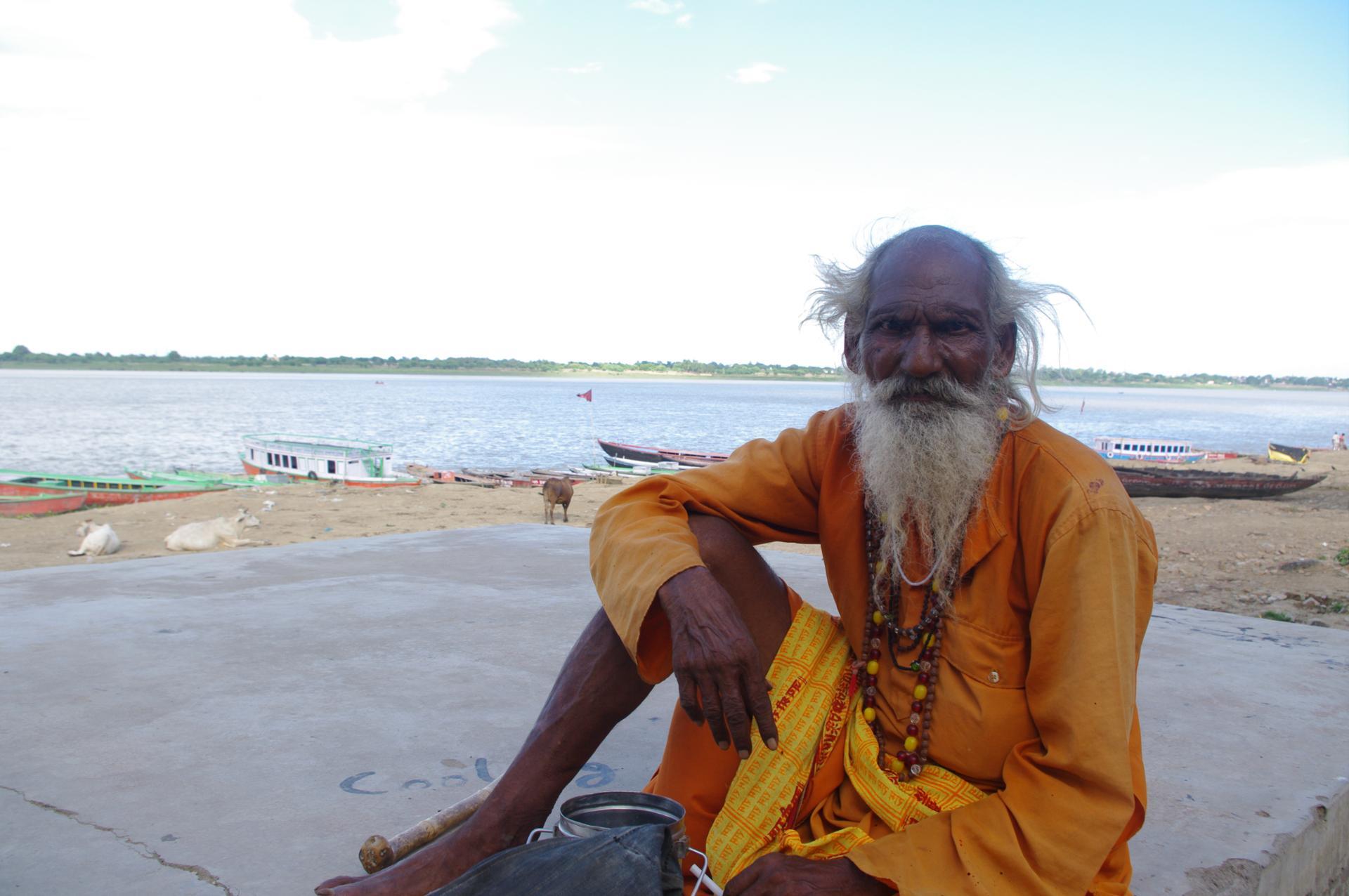 rencontre le long du Gange