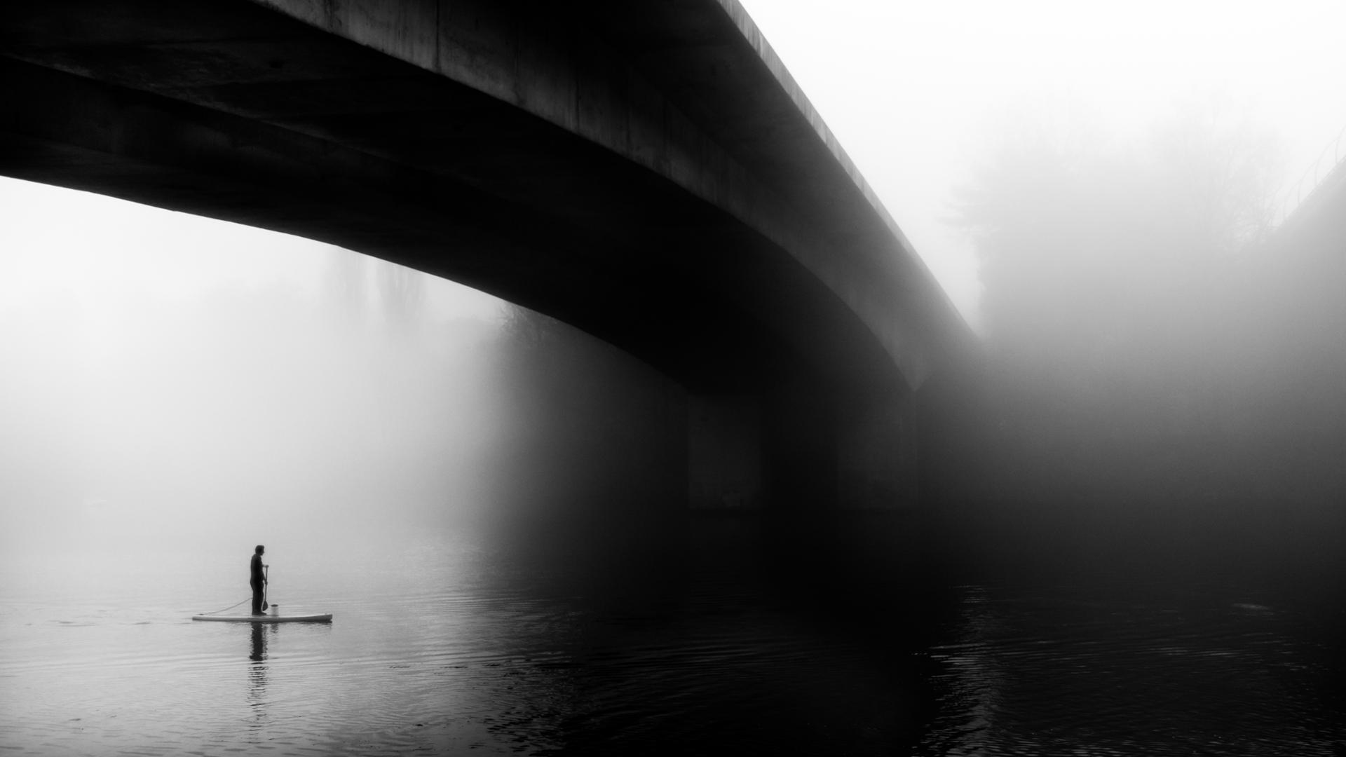 Sous la brume de l'Erdre