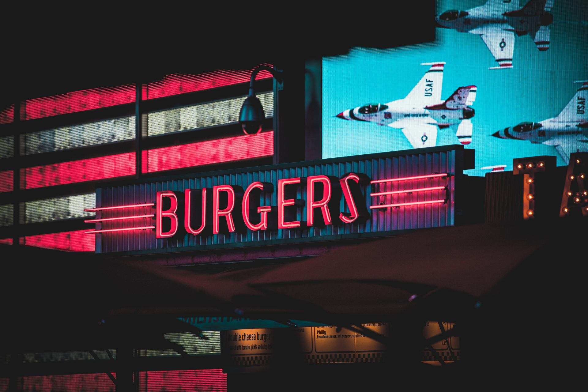 This is America - New York burgers
