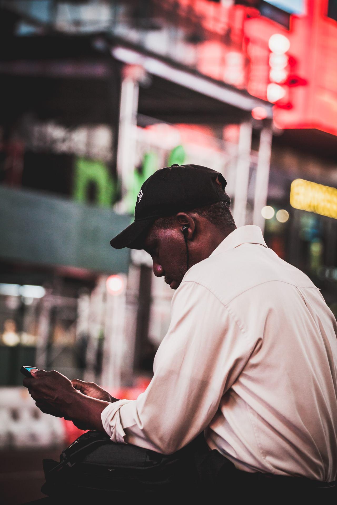 l'inconnu de Times Square