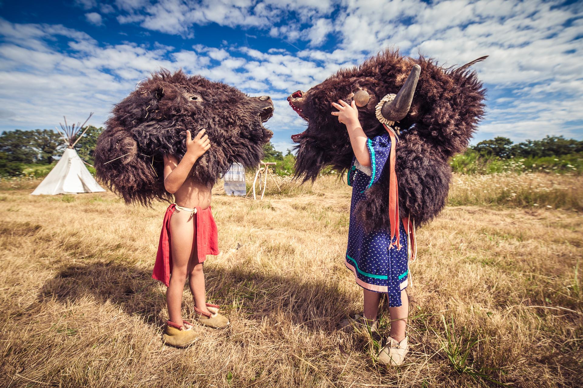 Les indiens du Limousin