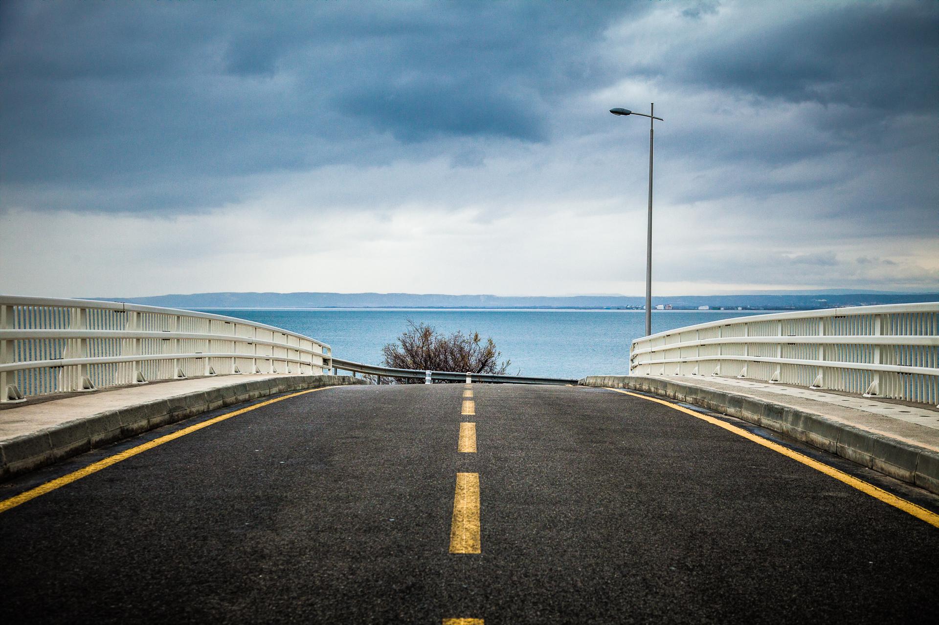 Au bout du pont