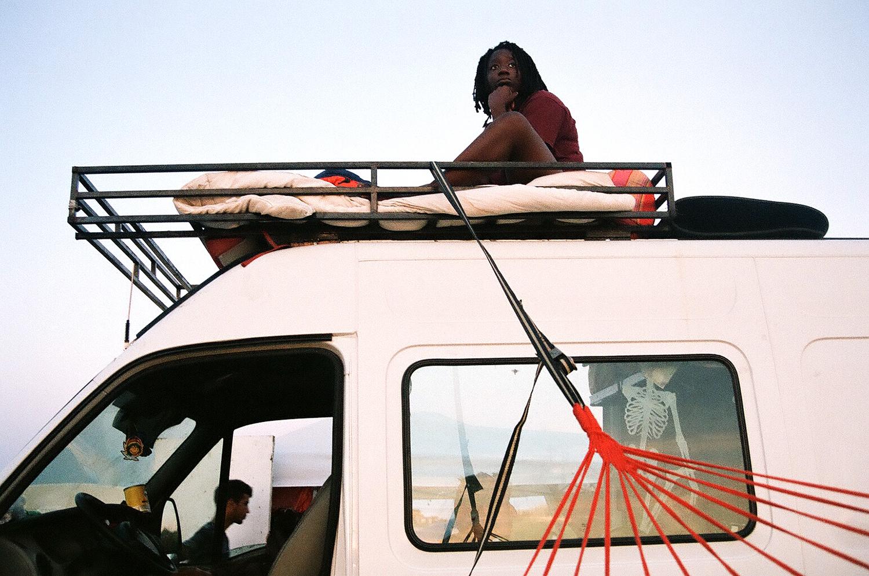Gaia on the Van