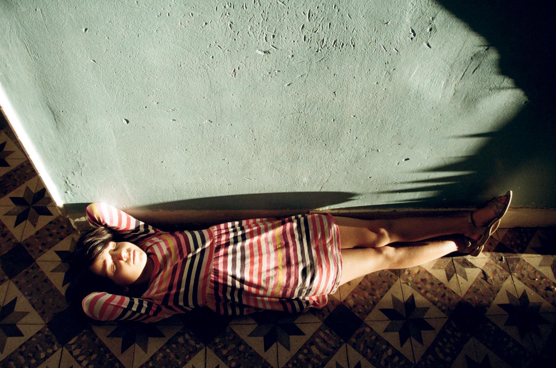 Sara, on the Floor
