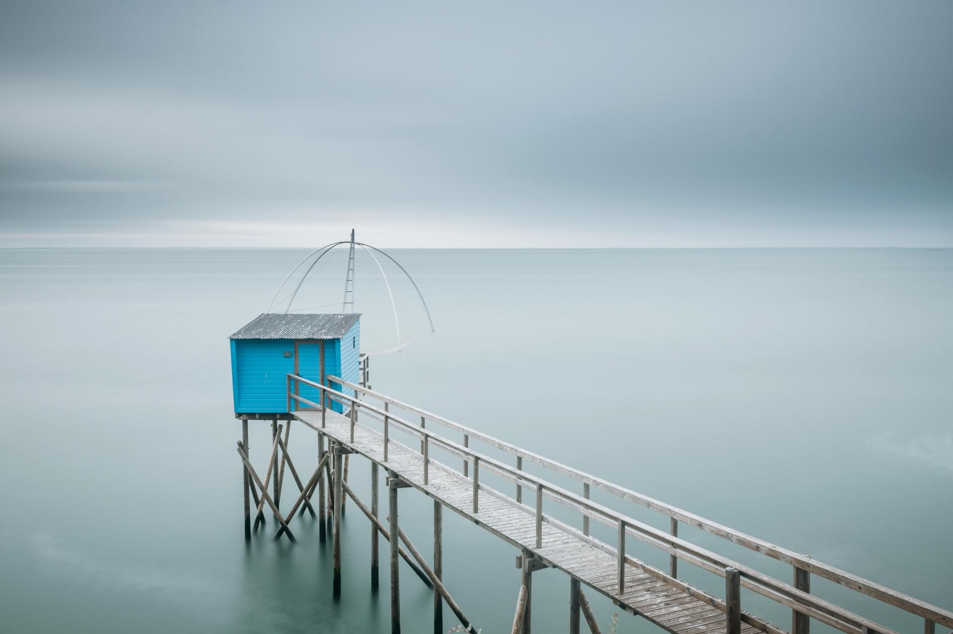 Blue fishery