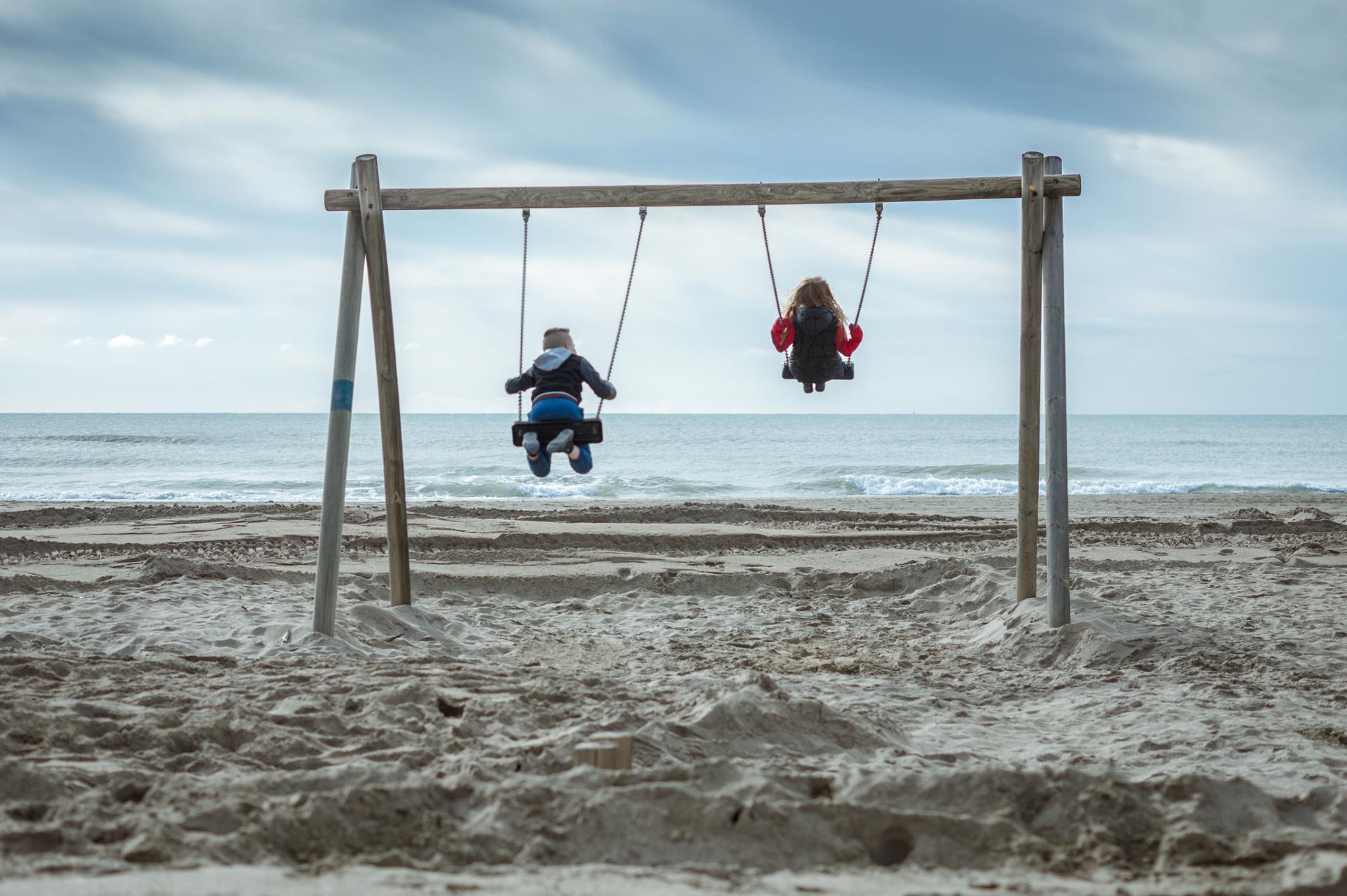 La balançoire de la plage
